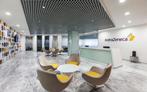 AstraZeneca's office design by Space Matrix for activity based working