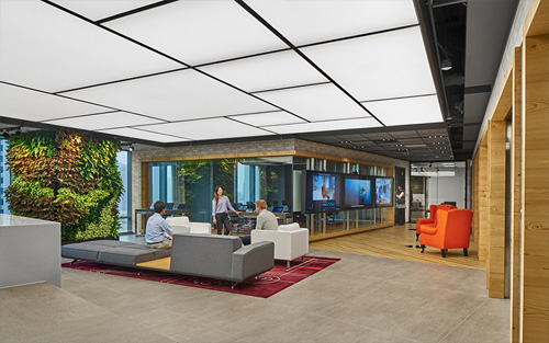 How Space Matrix's workplace design specialists conceptualised Microsoft Taipei's office design