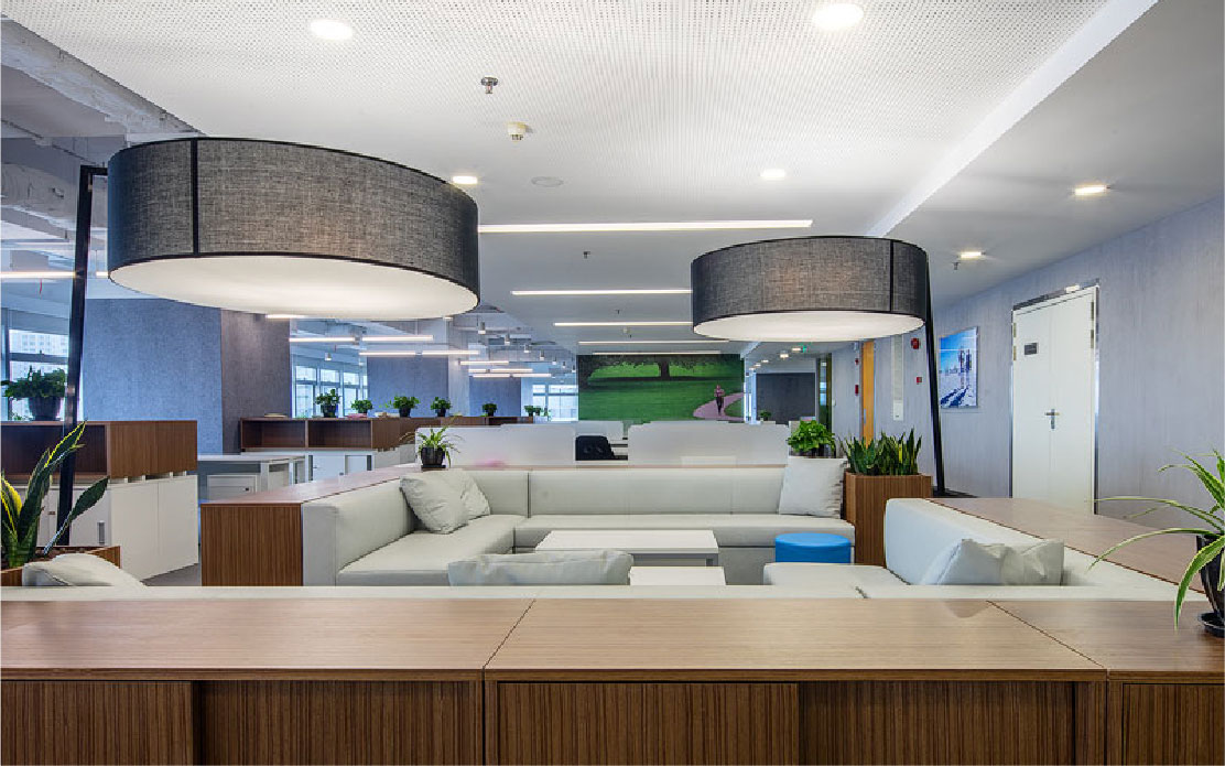 Office interior design solutions for Abbott by Space Matrix