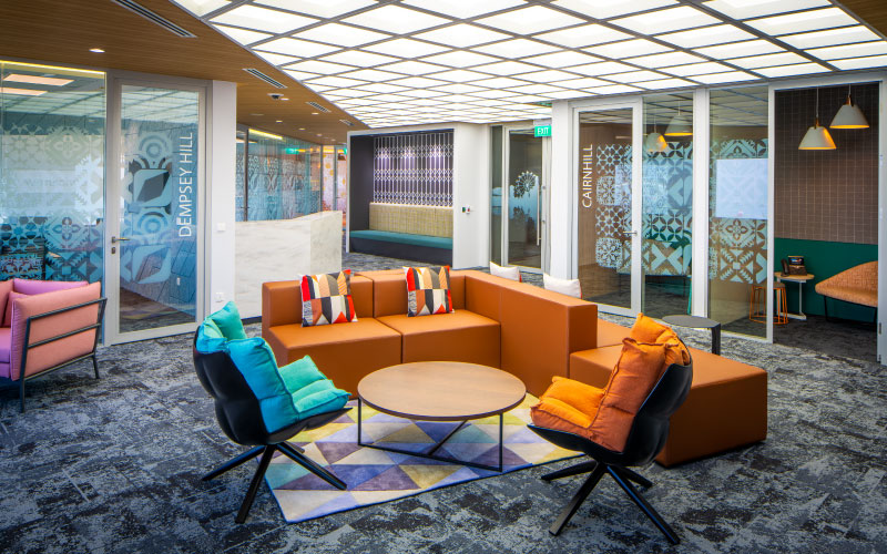 ServiceNow's innovative office design by Space Matrix