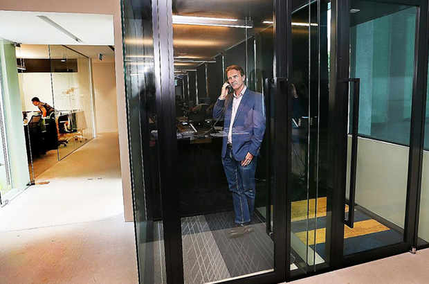 Noisy Office? Space Management Controls Flow Of Sound In Open Offices