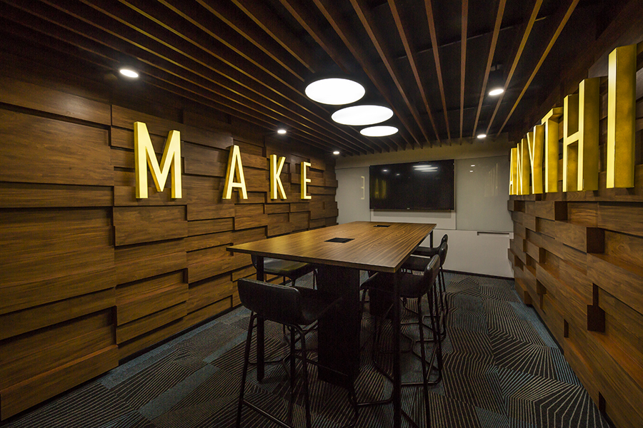 Creative workplace design at Autodesk Bangalore
