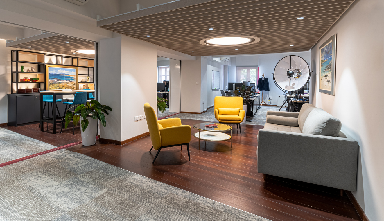 Offices in the New Normal require a corporate brand identity that focuses on belonging and wellbeing