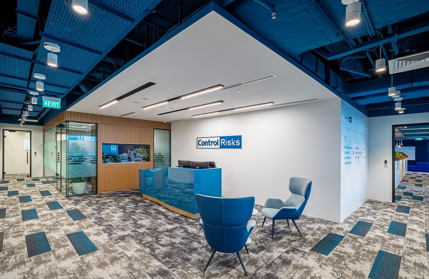 Control Risks transitioned to a new workplace strategy with the help of Space Matrix