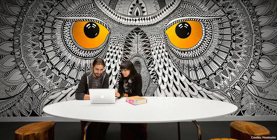 Co-working spaces to boost workplace engagement