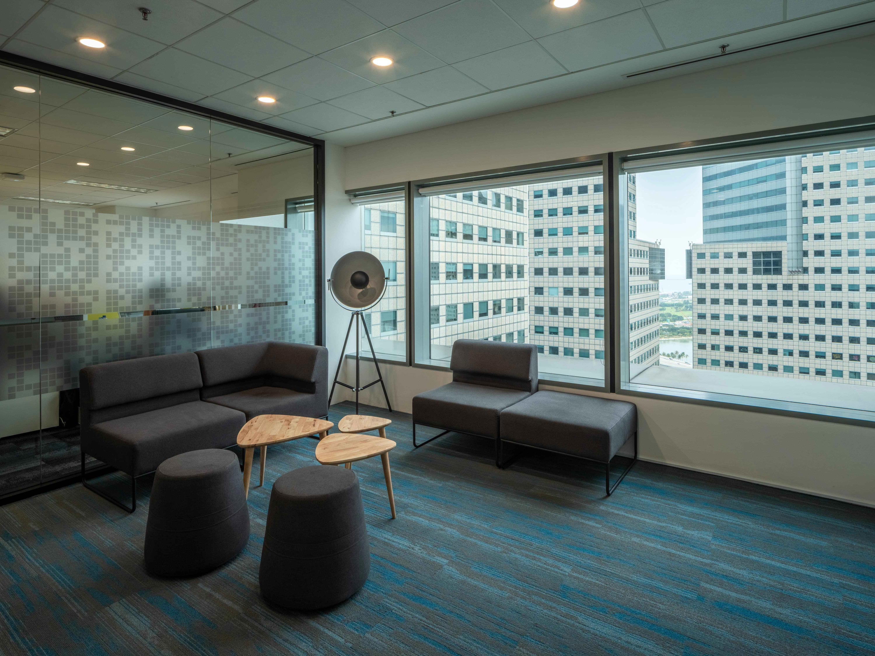 Nutanix's commercial workspace design by Space Matrix