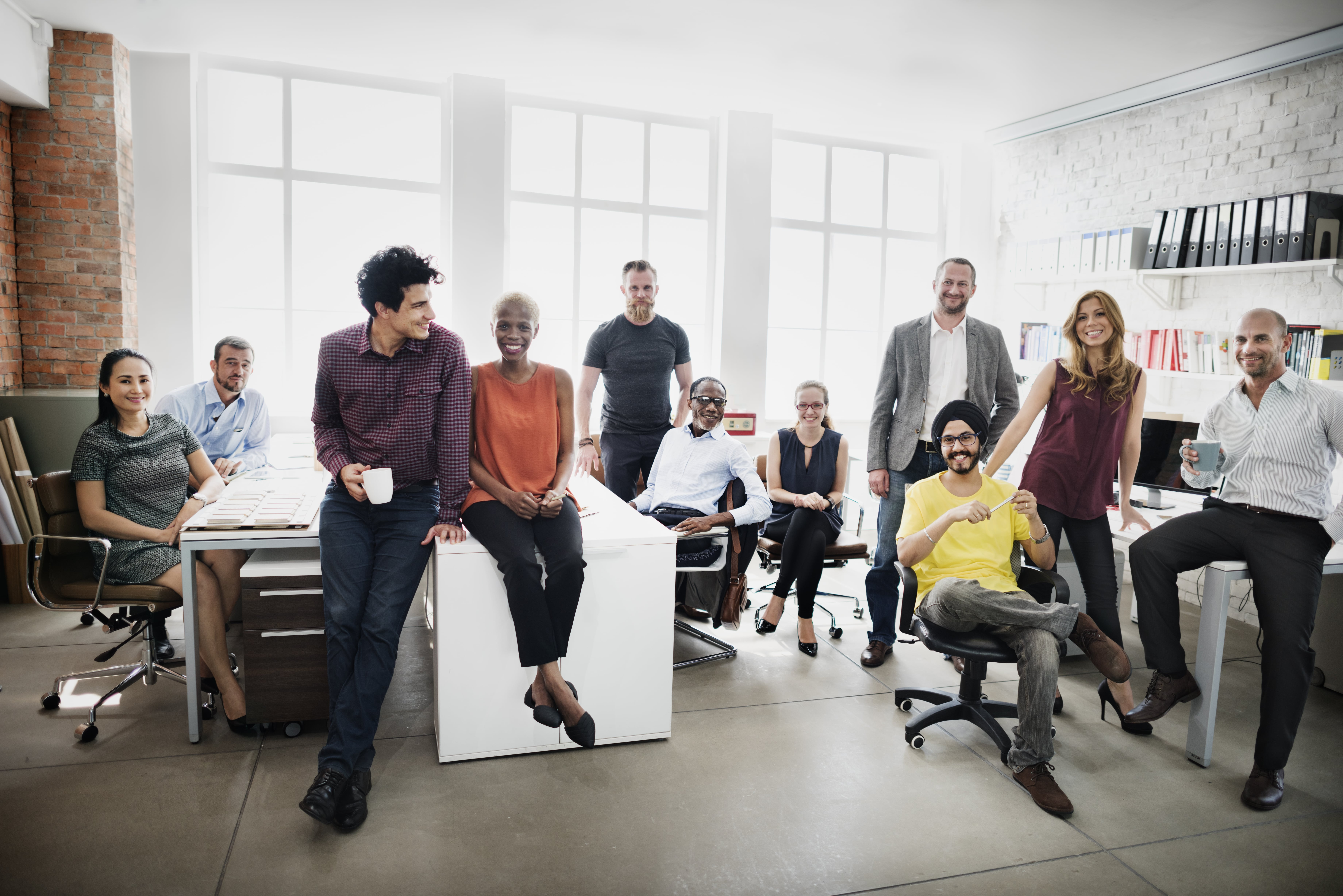 A diverse workforce ensures inclusivity and improves productivity