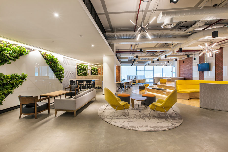 Workspace design for employee engagement
