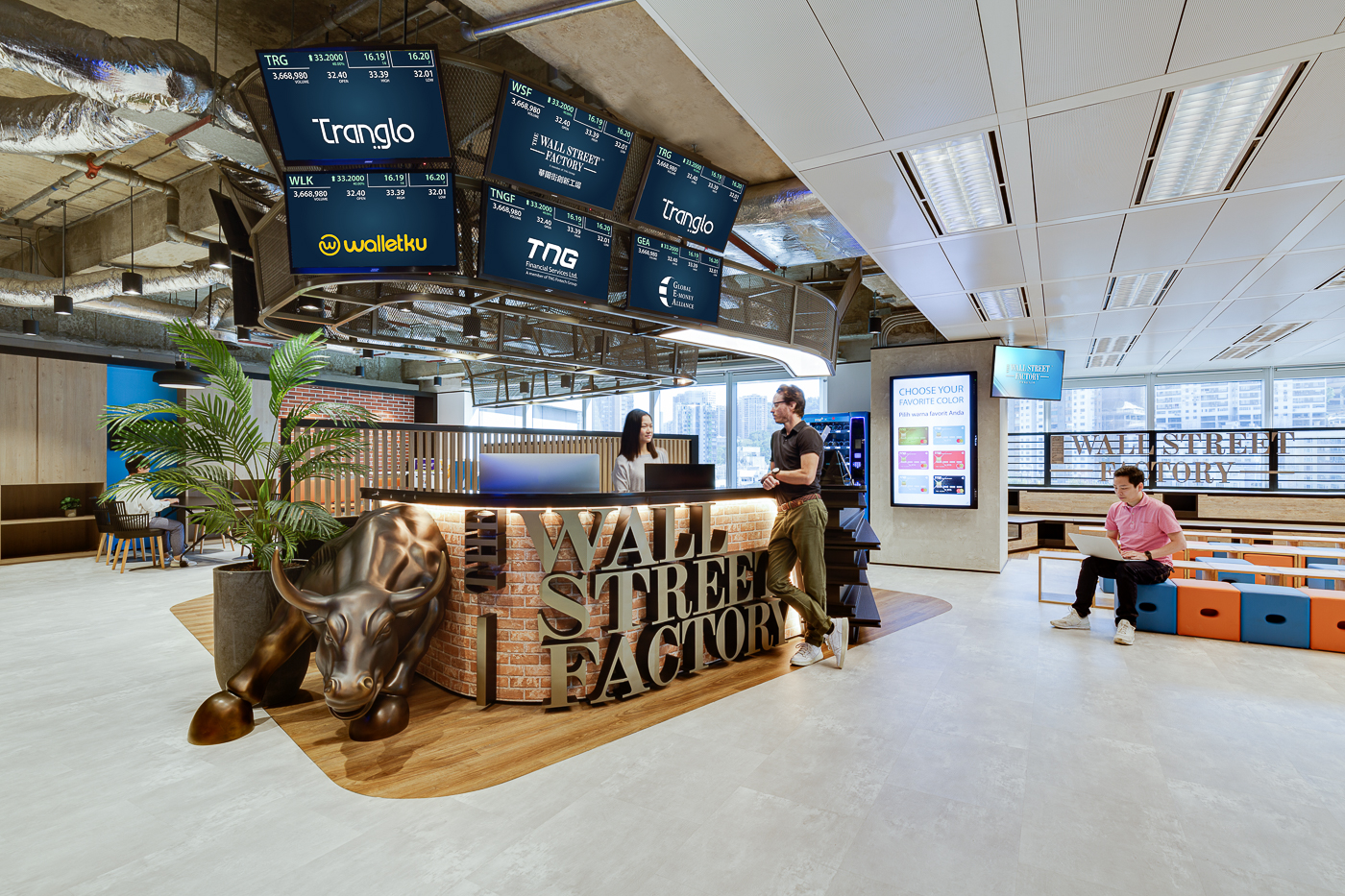 The Space Matrix focus on the modern financial services office has helped to shape many large and boutique company workplaces
