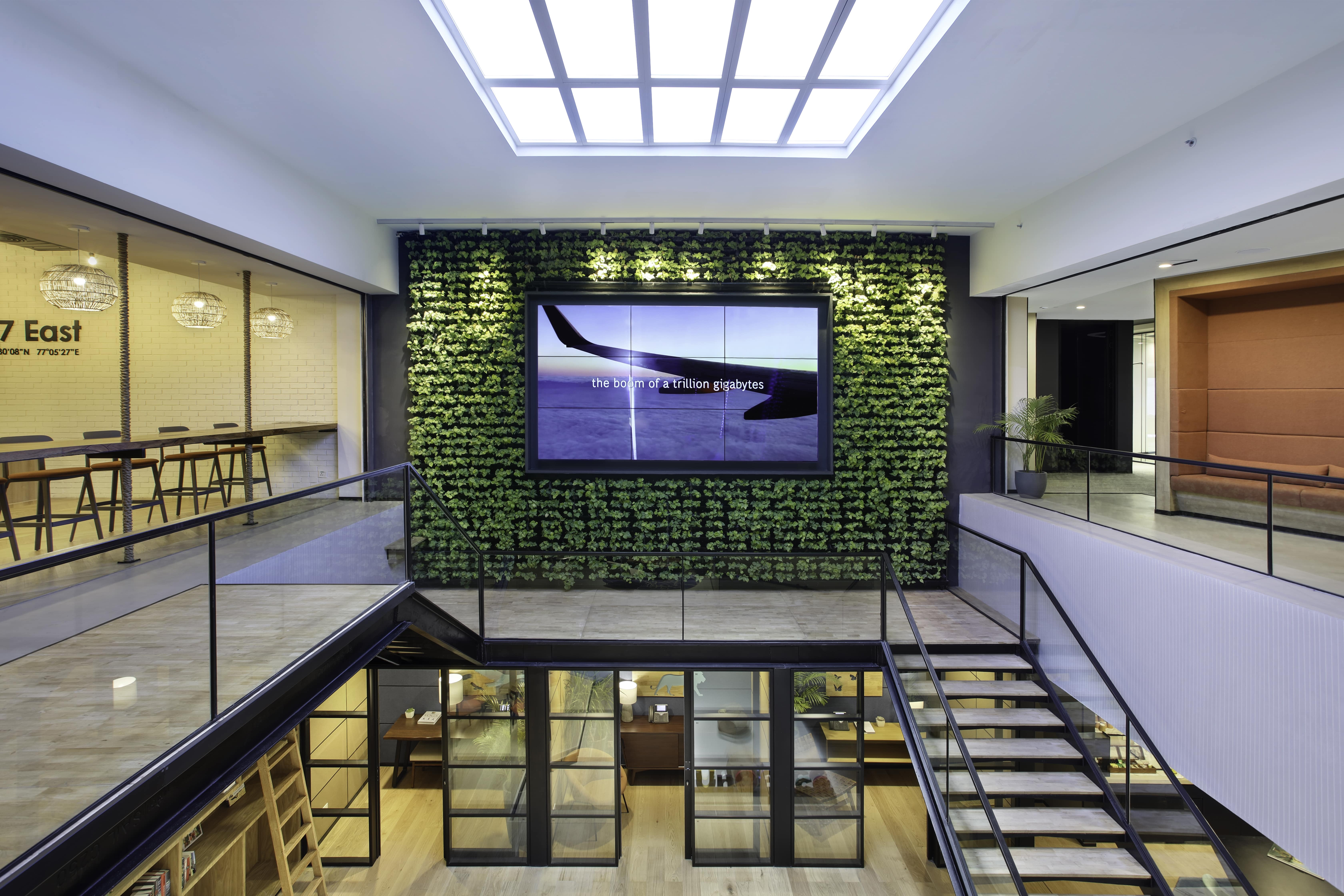 Space Matrix designed a post pandemic workplace for a leading consultancy