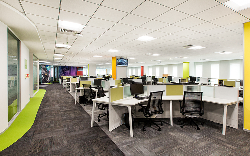 Creative office designs by Space Matrix for IMG