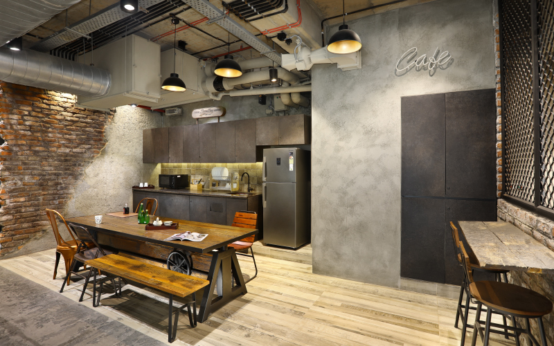 Superdry office designed by workplace design specialists