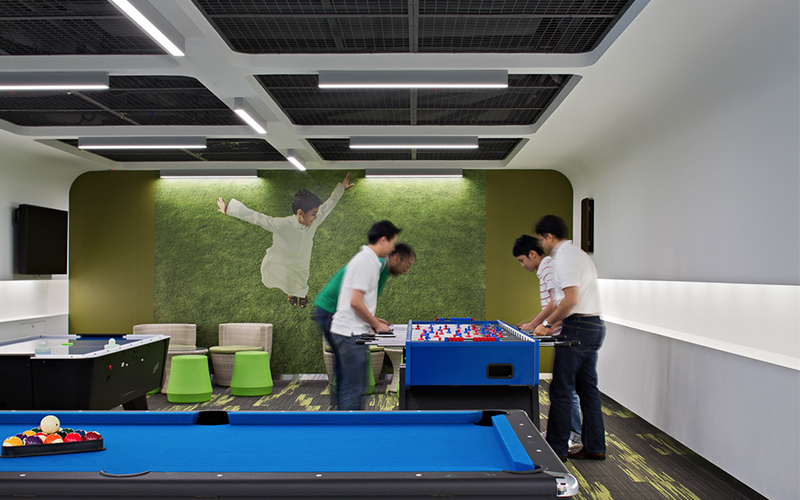 Cisco office designed by Space Matrix