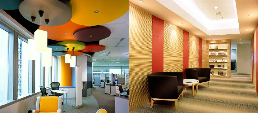 The Hyperion Singapore office and Cargill Singapore office design made good use of colour pops to showcase the brand personality