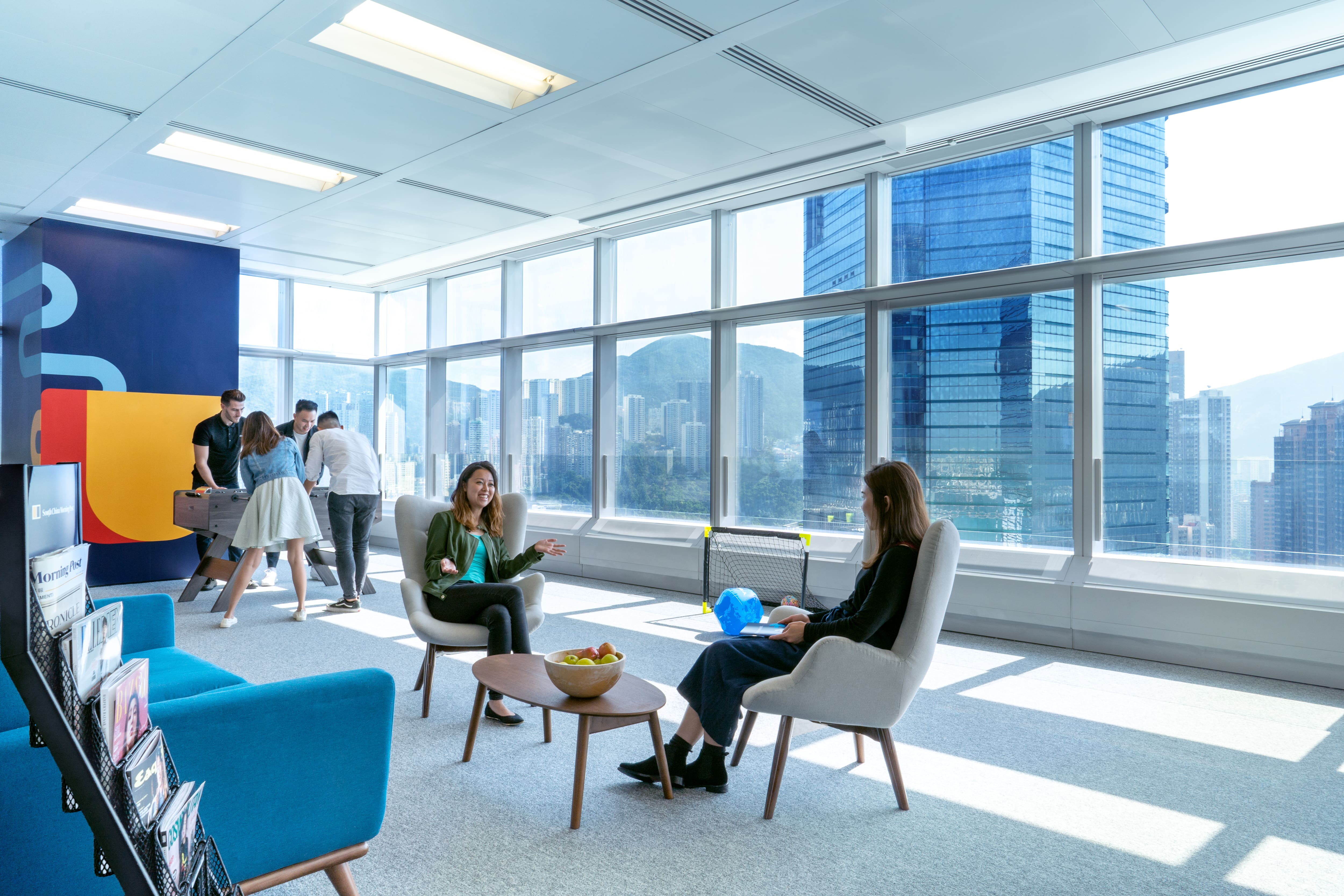 Space Matrix focuses on building Workplace wellbeing experiences for its clients