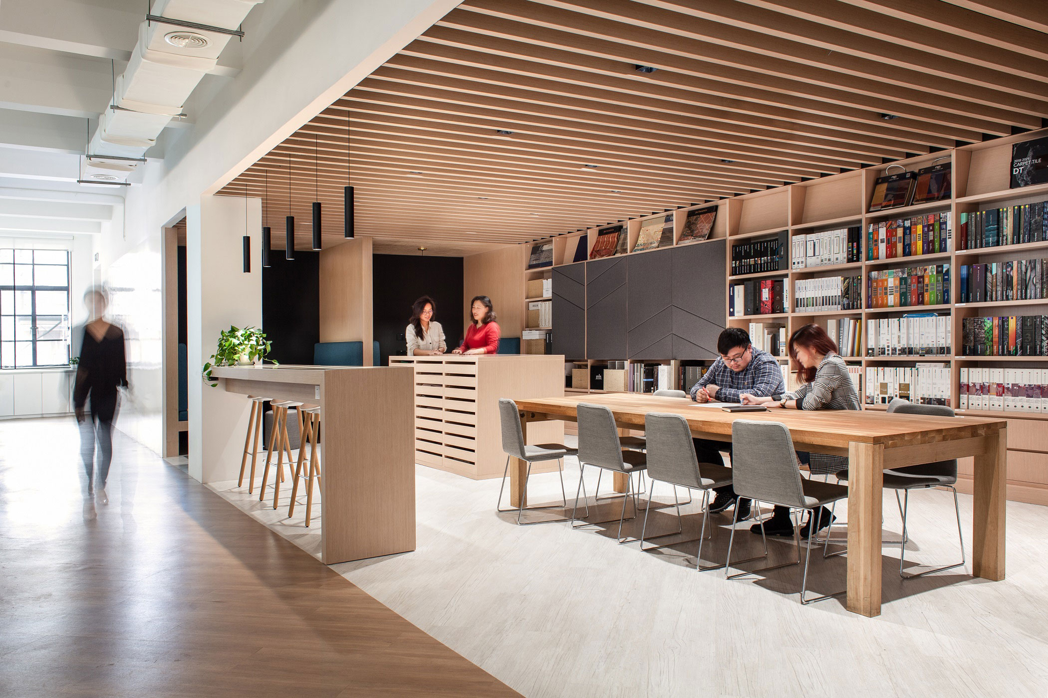 3 Things That Happen When Designers Design Their Own Office Interior Space Matrix
